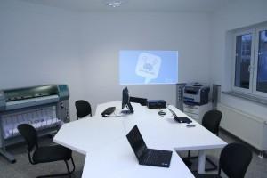Der Openspace (großes Büro)